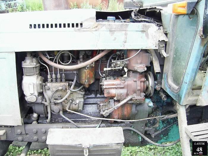 мтз двигатель